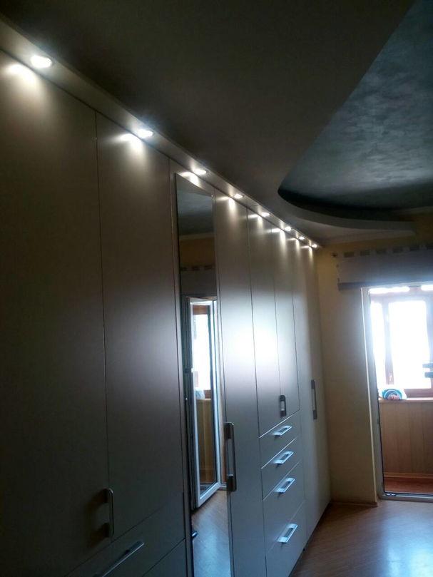 Установка светильников в квартирах
