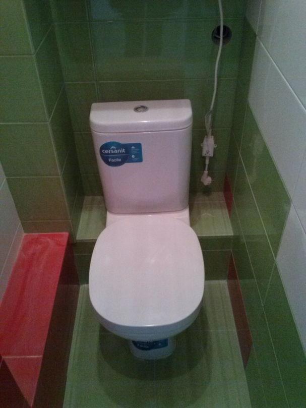 Установка туалета