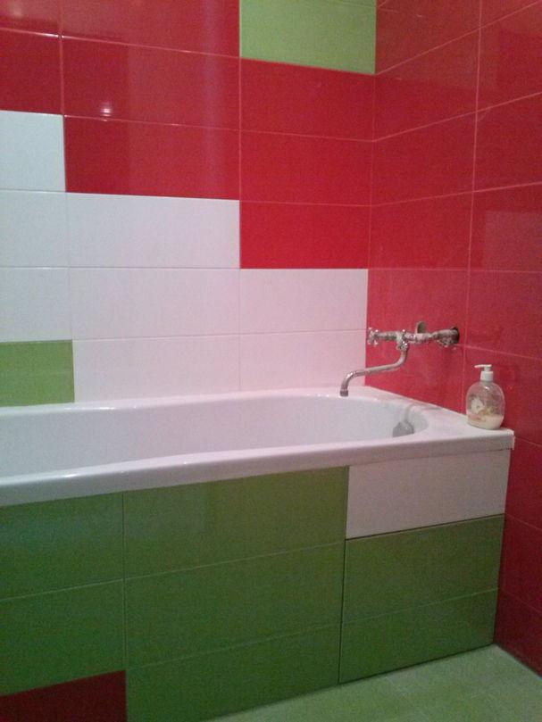 Ремонт ванной комнаты, укладка кафеля
