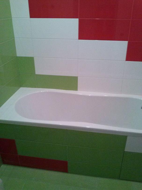 Установка ванны, ремонт ванной комнаты
