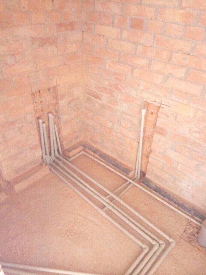 Замена труб в подвале