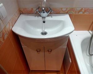Монтаж раковины в ванной фото