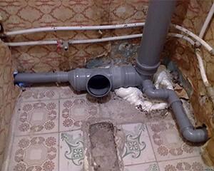 Ремонт канализации в квартире фото