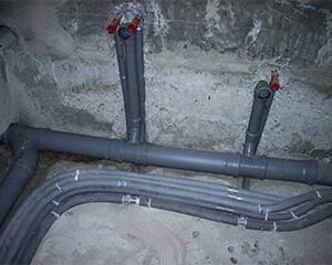 Ремонт труб канализации фото