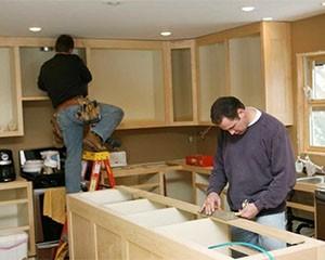 Установка кухонной мебели фото