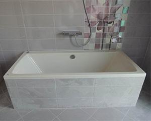 Монтаж ванны фото