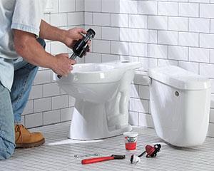 WC poti paigaldamine